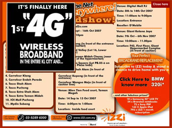 4G wireless broadband