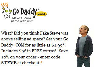 Cheap domains from GoDaddy