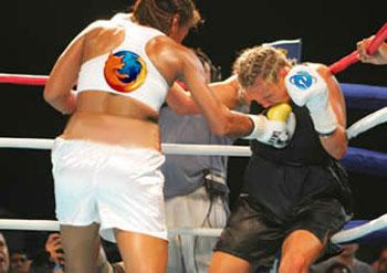 Firefox versus IE
