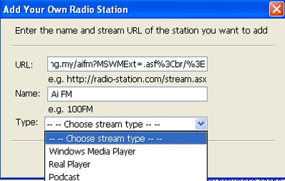 Manage radio station 2