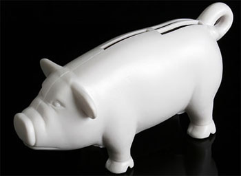 Piggy card reader