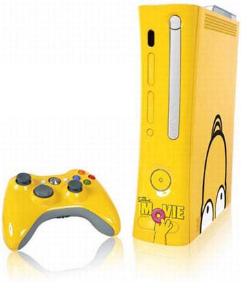 Simpsons Xbox 360s