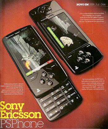 Sony Ericsson PSPhone