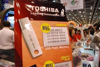 Toshiba flash memory