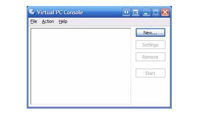 Virtual PC console