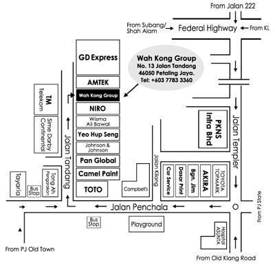 Wah Kong location map