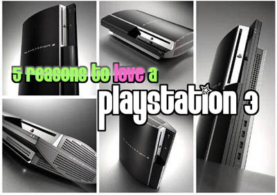 5 reasons why PS3