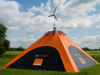 Recharge tent