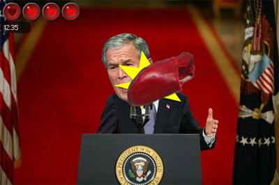 Bush flash game