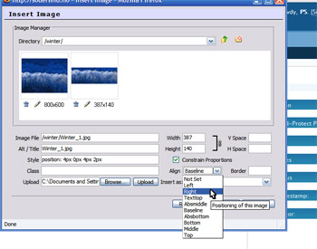 Image manager