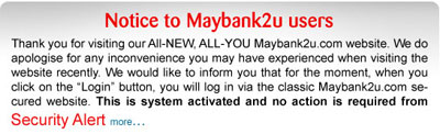 Maybank2u notice