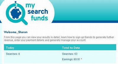 MySearchFunds EARNINGS