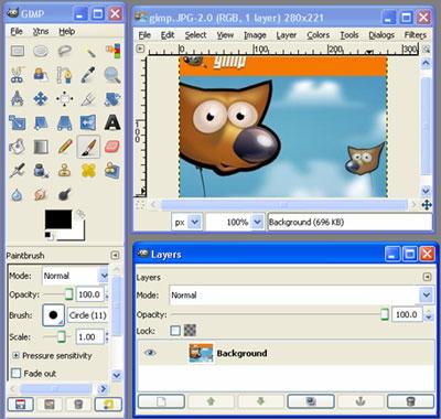 GIMP image