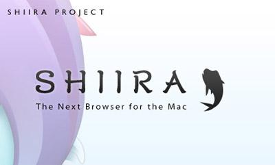 Shiira browser